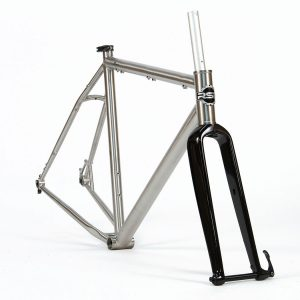 Catalyst V2.0 Titanium Frame & Carbon Fork – Medium